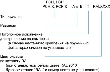 Сотовые решётки РСН, РСР, РСН-К, РСР-К