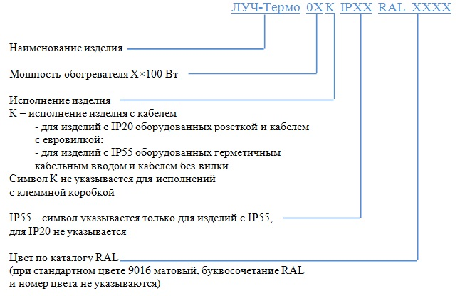 """Панельные инфракрасные обогреватели """"Луч-Термо"""""""