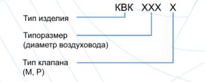 Регулирующие для круглых воздуховодов КВК-М, КВК-Р