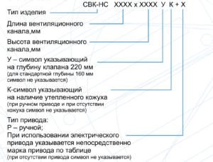С подогревом для прямоугольных каналов СВК-НС
