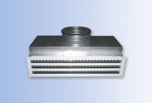 Воздухораспределители с камерами статического давления