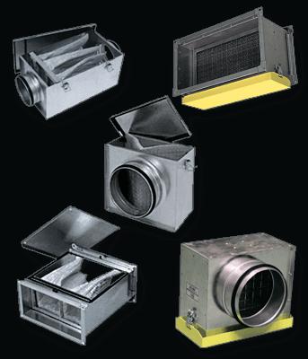 Канальное оборудование для систем вентиляции