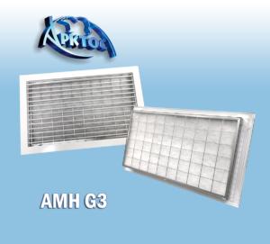 Вентиляционные решетки с фильтрами