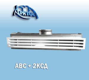 Воздухораспределители с камерами статического давления (КСД)