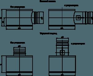 Cопловые панельные 1ВПС, 2ВПС, 2ВПС-П, 1ВКС